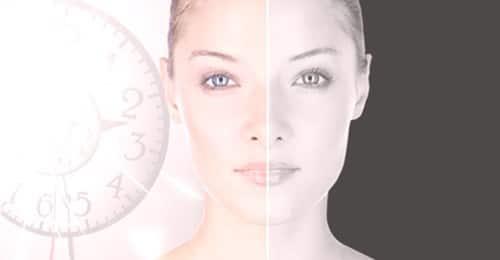 Kobieta prezentująca jaki wpływ na skórę ma retinol
